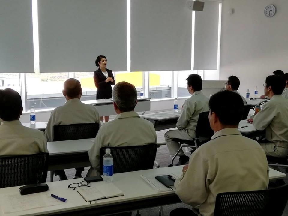 兵庫県赤穂市アース製薬株式会社で研修を行いました