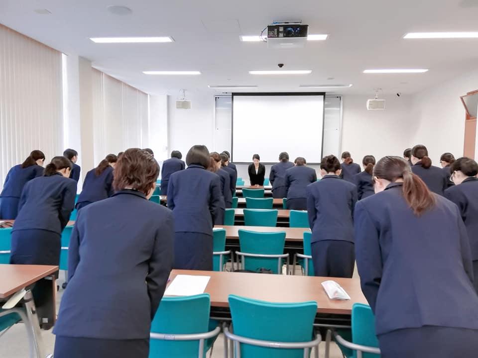 甲南女子大学にて就職活動面接のマナー講座を開催!