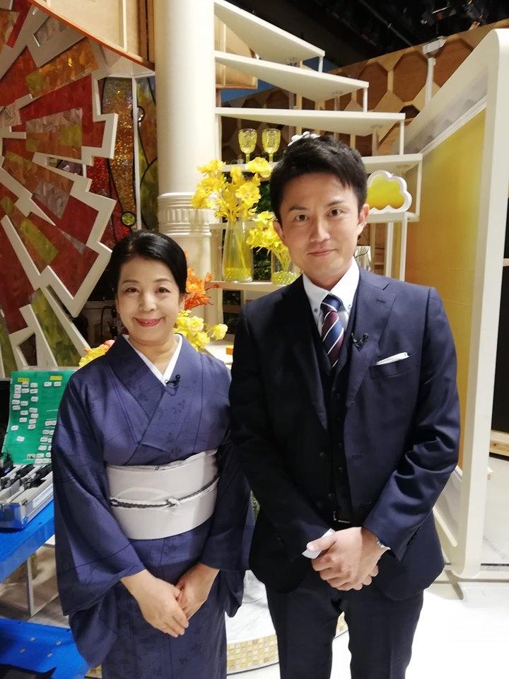 TBS テレビ「ビビット」にお盆のマナーで出演!